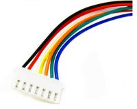 7 Pin JST XH 2.54mm Pitch Plug and Socket with Cable