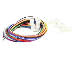 9 Pin JST XH 2.54mm Pitch Plug and Socket with Cable