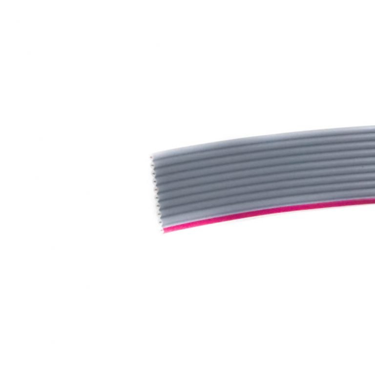 Gray Flat Ribbon Cable 10 wire per 1 meter