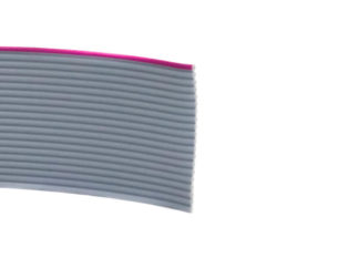Gray Flat Ribbon Cable 20 wire per 1 meter