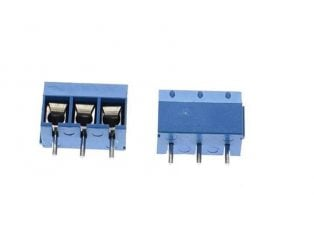 KF301 3 Pin 5.08mm Pitch Plug-in Screw Terminal Block Connector