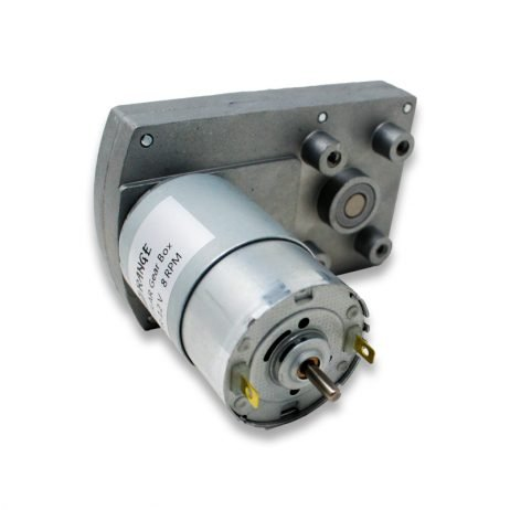 Orange TT555 12V 125RPM Rectangular gearbox DC motor-Encoder Compatible
