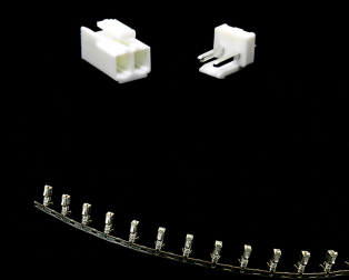 2 Pins 3.96mm Pitch JST-VH Connector With Housing
