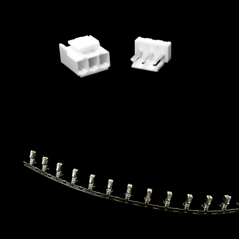 3 Pins 3.96mm JST-VH Connector With Housing