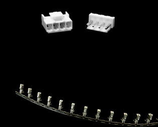 4 Pins 4mm Pitch JST-XH Connector With Housing (Pack of 10)