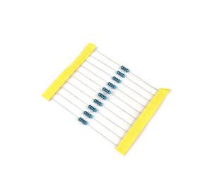 100 Ohm 0.5W Metal Film Resistor (Pack of 50)