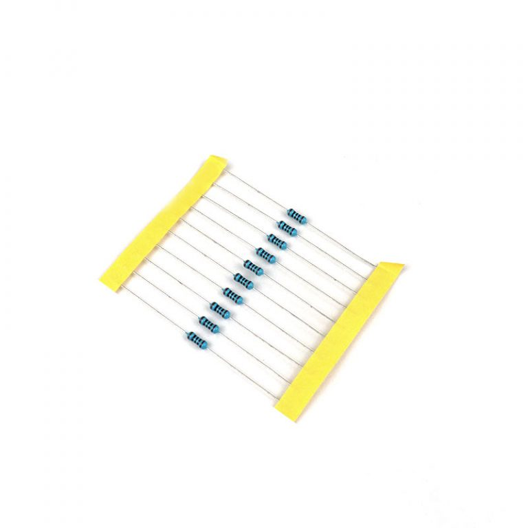 100 Ohm 0.5W Metal Film Resistor (Pack of 50)
