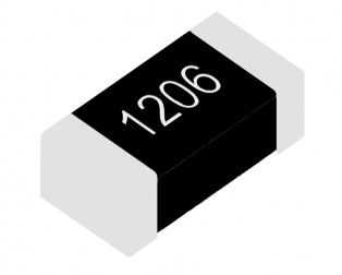 1/4W 1206 Surface Mount Chip Resistor