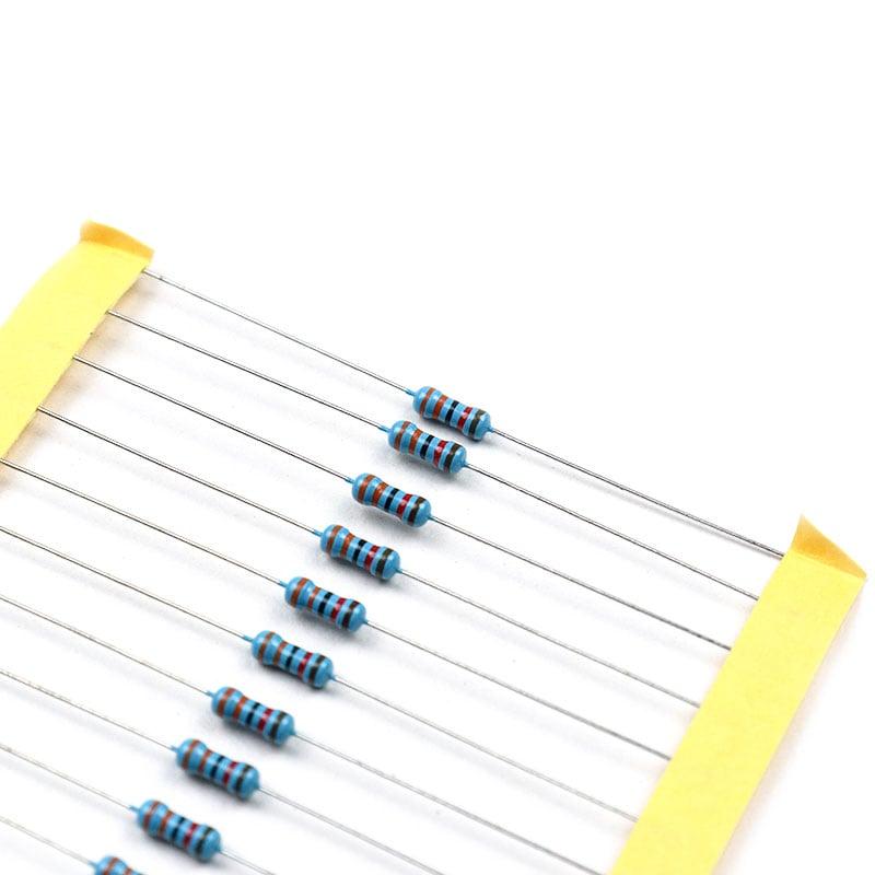33k Ohm 0.5W Metal Film Resistor (Pack of 50)