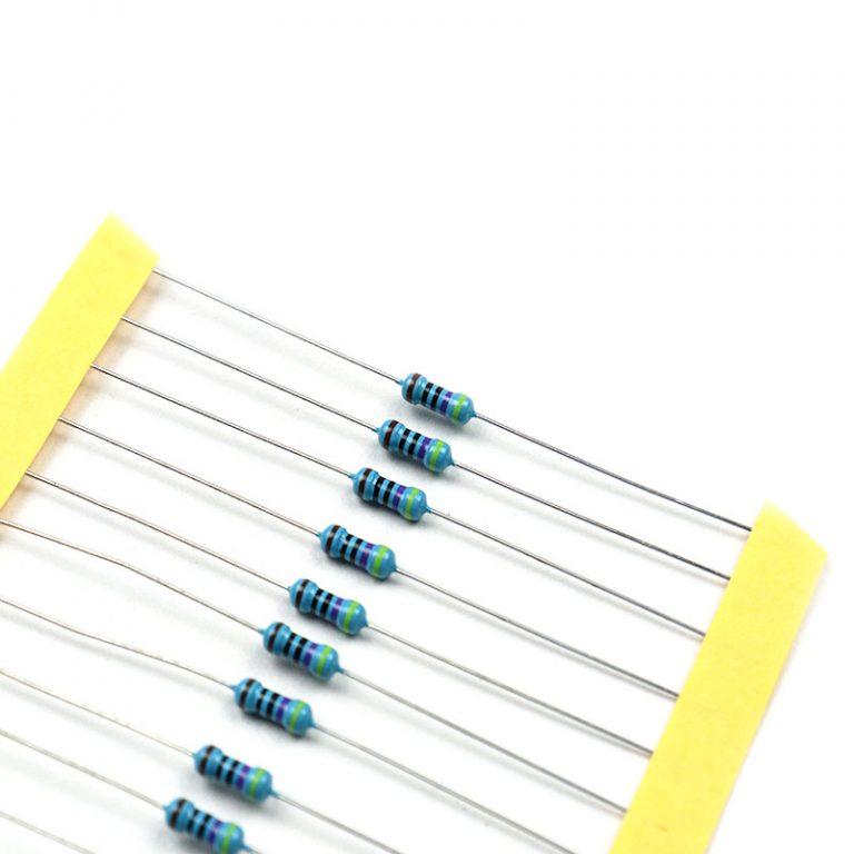 470 Ohm 0.25W Metal Film Resistor