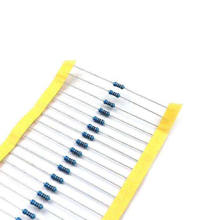 6.8k Ohm 0.5W Metal Film Resistor (Pack of 50)