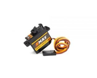 EMAX ES08A II 4.8V-6V Mini Plastic Gear Analog Servo 8.5gm for RC Model - ROBU