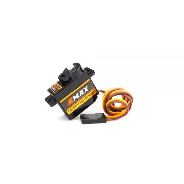 EMAX ES08A II 4.8V-6V Mini Plastic Gear Analog Servo 8.5gm for RC Model - ROBU