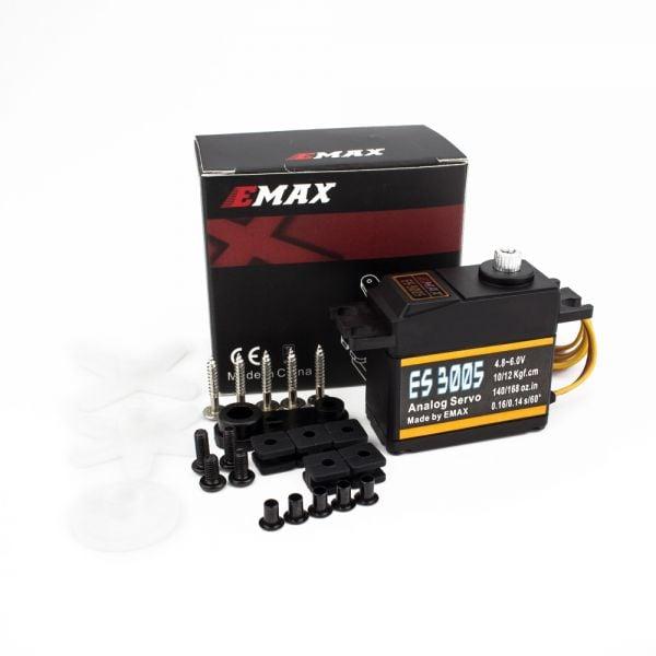 EMAX ES3005 Metal Analog Servo Waterproof 42gm for RC Model - - ROBU