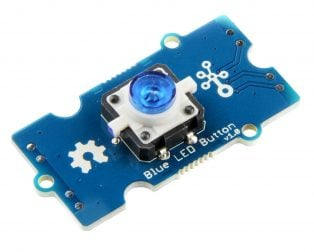 Grove - Blue LED Button