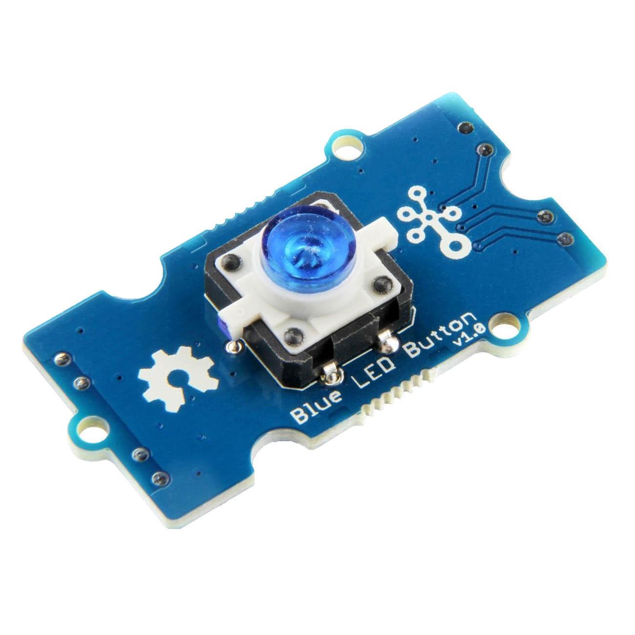 Grove - Blue LED Button