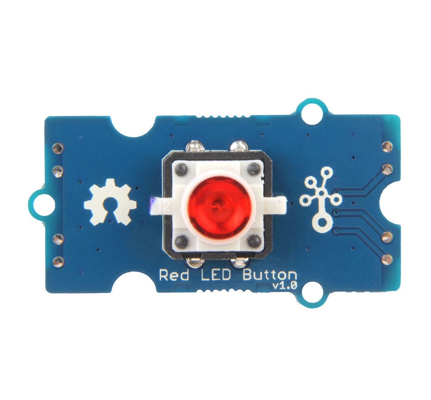 Grove - Red LED Button