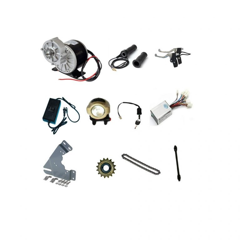 MY1016Z2 24V 250W Motor with E-Bike Combo Kit -- ROBU