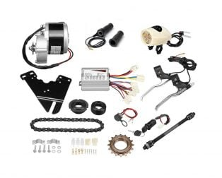 MY1016Z2 24V 250W Motor with E-Bike Combo Kit --- ROBU
