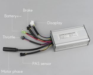 Motor Controller Leads Configuration
