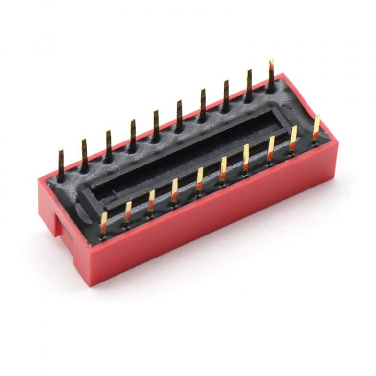10 Way DIP Slide Switch