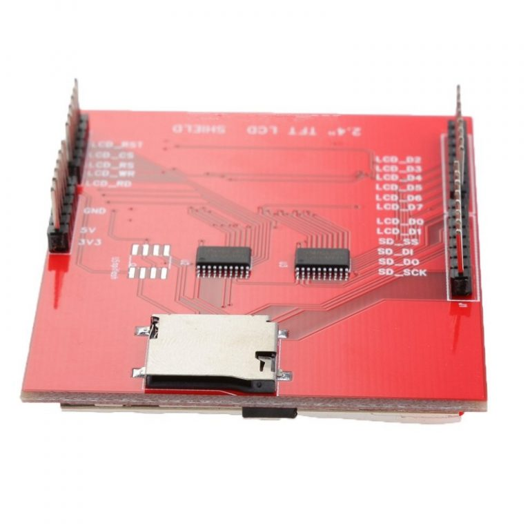2.4 inch TFT LCD Touch Display Shield for Arduino