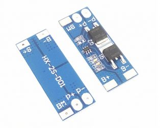 2S 10A 18650 7.4V-8.4V Lithium Battery Protection Board