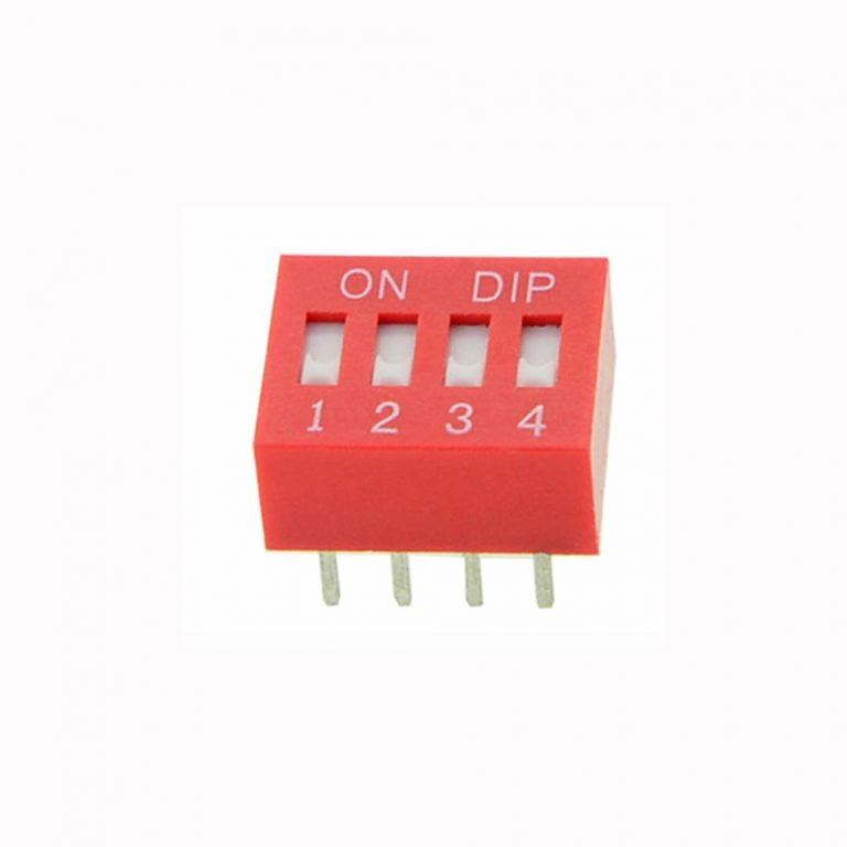 4 Way DIP Slide Switch