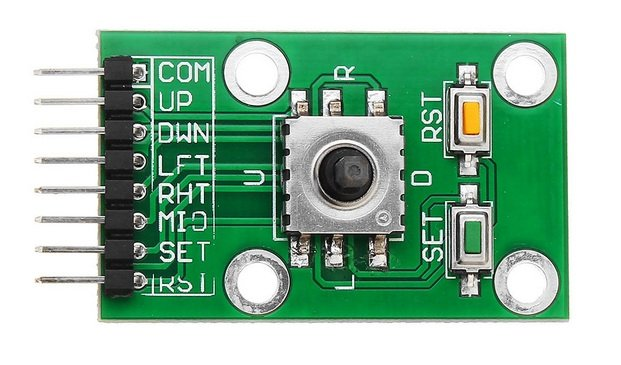 Five Direction Navigation Button Module for MCU AVR Game 5D Rocker Joystick Independent Keyboard for Arduino Joystick Module