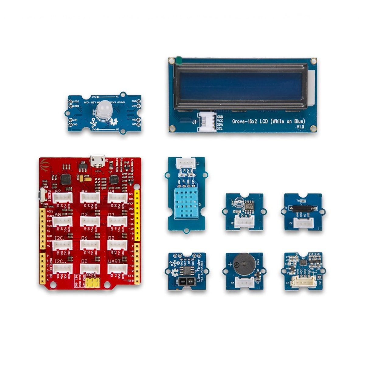Grove Beginner Kit for Arduino-Seeed Studio
