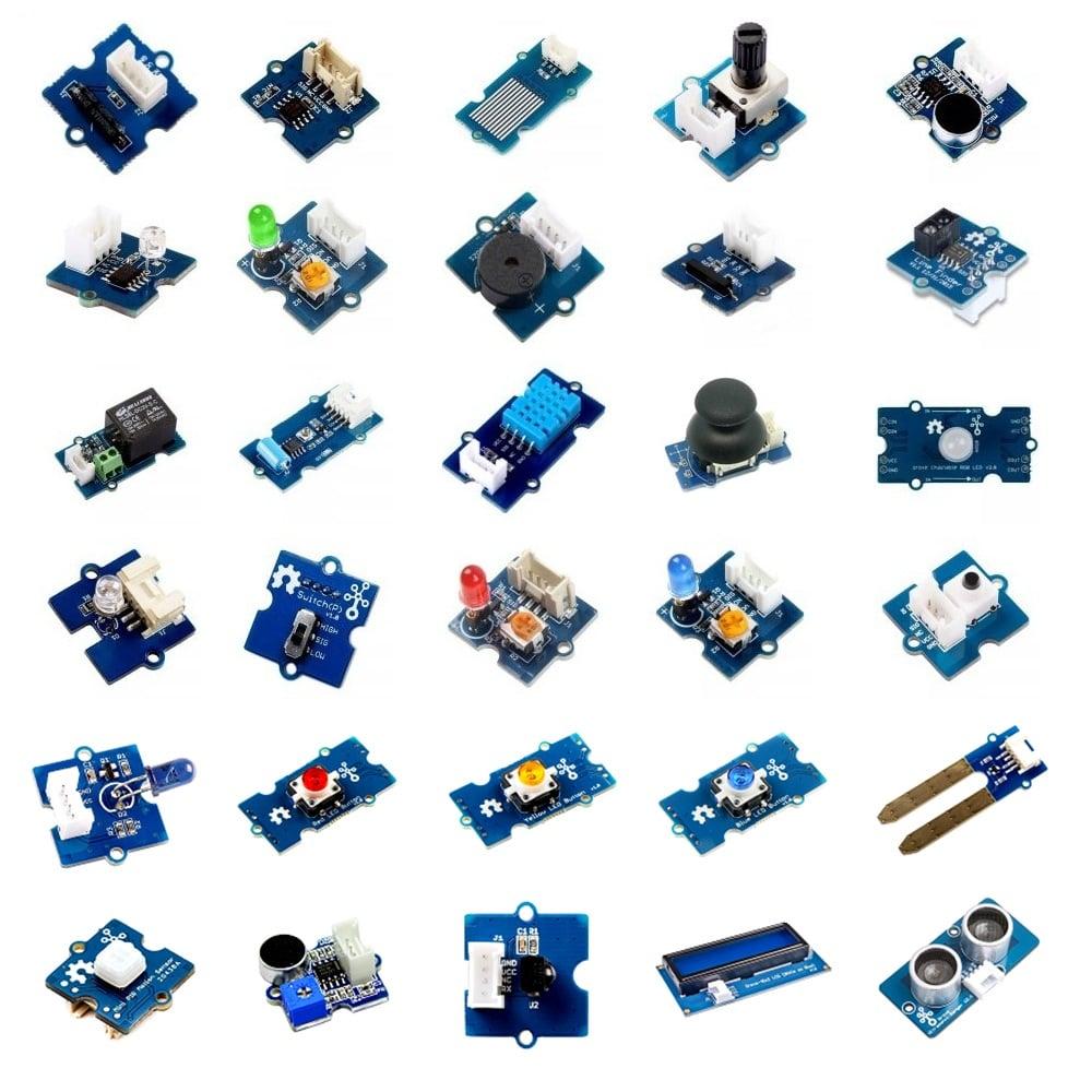 Grove Creator Kit - Beta (30 in 1 Sensor Kit)