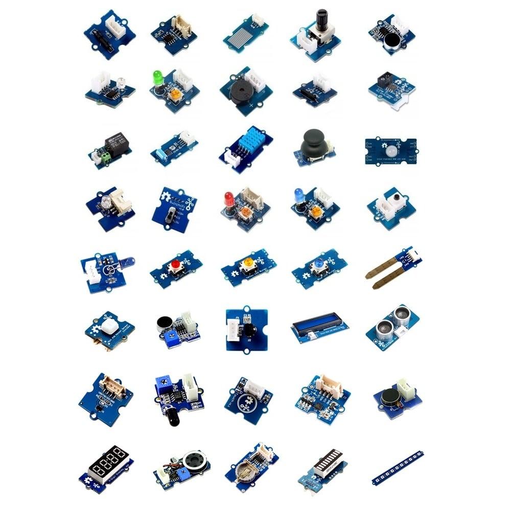 Grove Creator Kit - Gamma (40 in 1 Sensor Kit) - Seeed Studio