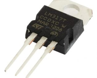 LM317T Adjustable Voltage Regulator
