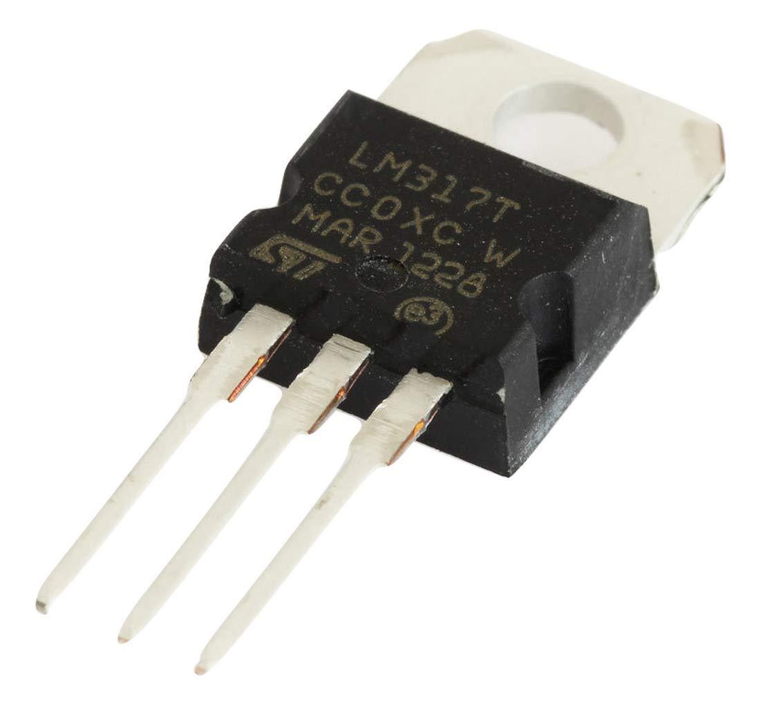 LM317T Adjustable Voltage Regulator
