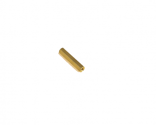 M3 X 25mm Female to Female Brass Hex Threaded Pillar Standoff Spacer