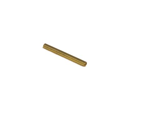 M3 X 50mm Female to Female Brass Hex Threaded Pillar Standoff Spacer