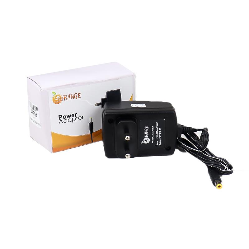Orange 12V 2A Power Supply