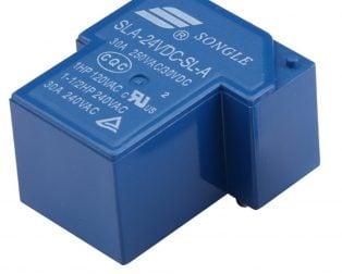 SLA-24VDC-SL-A 4Pin 30A Power Relay