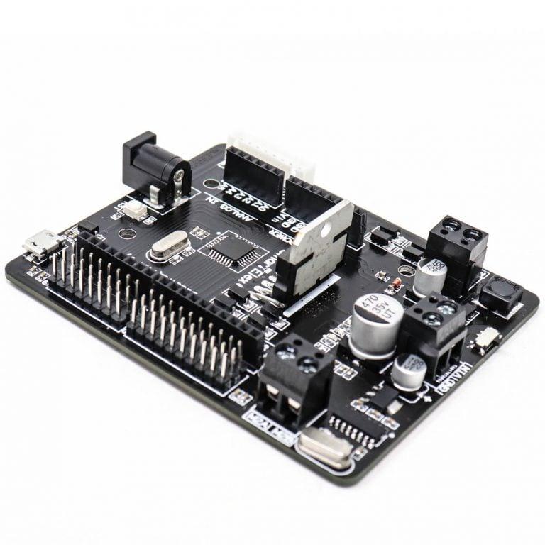 SmartElex L298N Motor Driver with Arduino Uno.