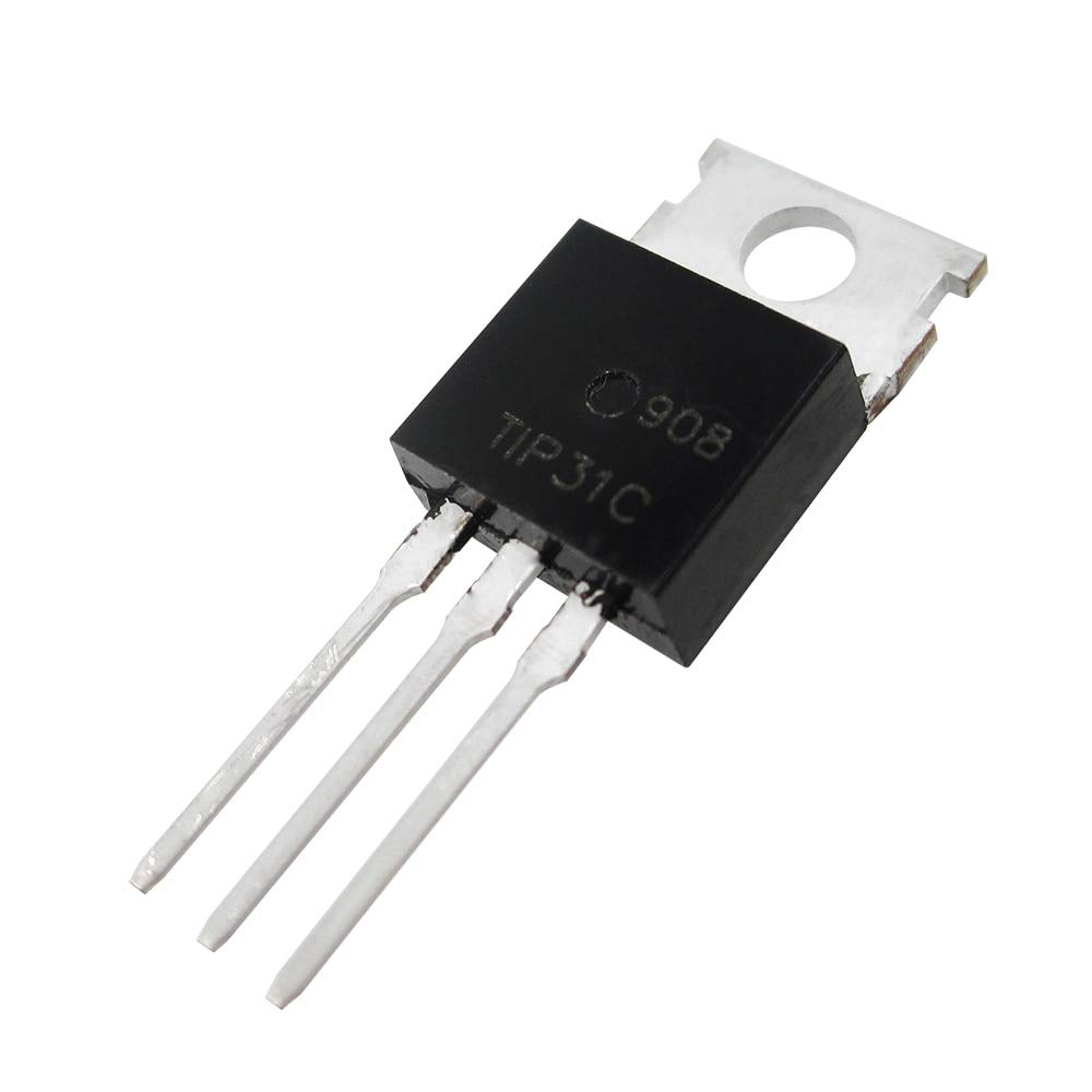 TIP31C NPN Power Transistor (Pack of 6) - Robu.in | Indian ...