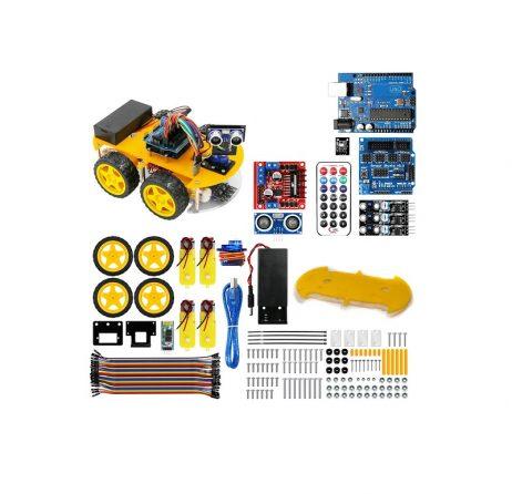 Ultrasonic Intelligent Bluetooth Robot Car Kit