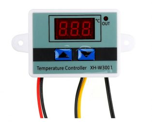 XH-W3001 DC 24V 240W Digital Temperature Controller Microcomputer Thermostat Switch