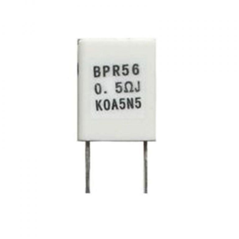 0.5 Ohm 5W Through Hole Sense Resistor