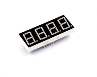 0.56 inch Red 4 Digit 7 Segment LED Display