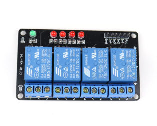 12V 4 Channel Relay Module