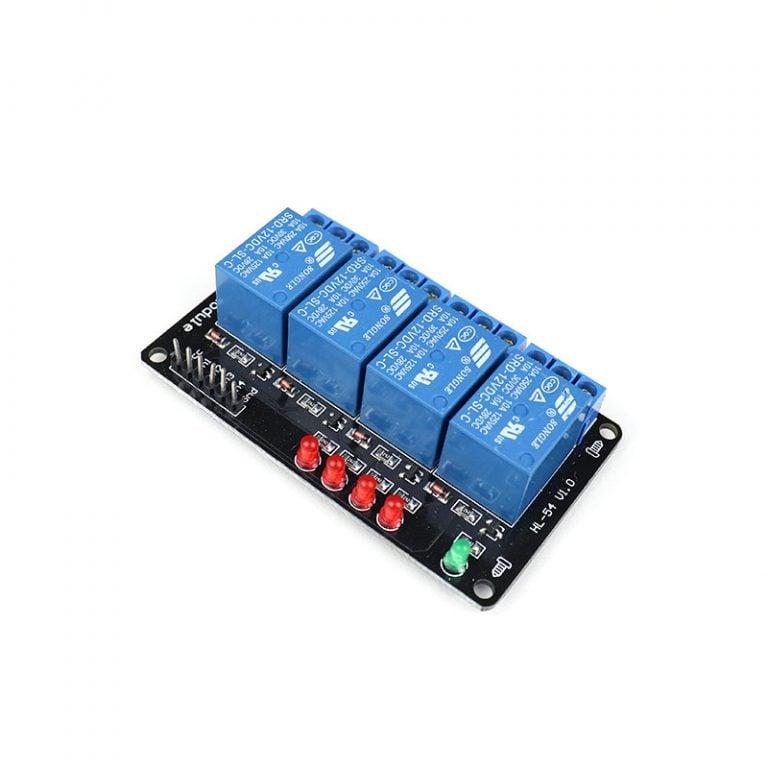 12V 4 Channel Relay Module