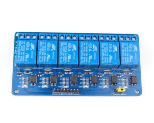 12V 6 Channel with Light Coupling Relay Module