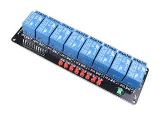 12V 8 Channel Relay Module