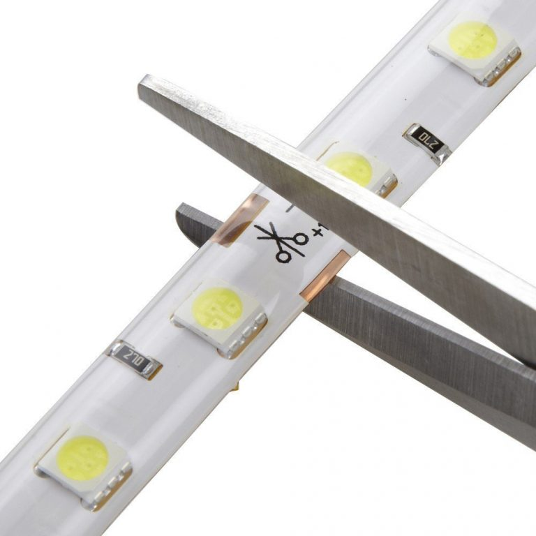12V Cold White 5050 SMD LED Strip- 1Meter