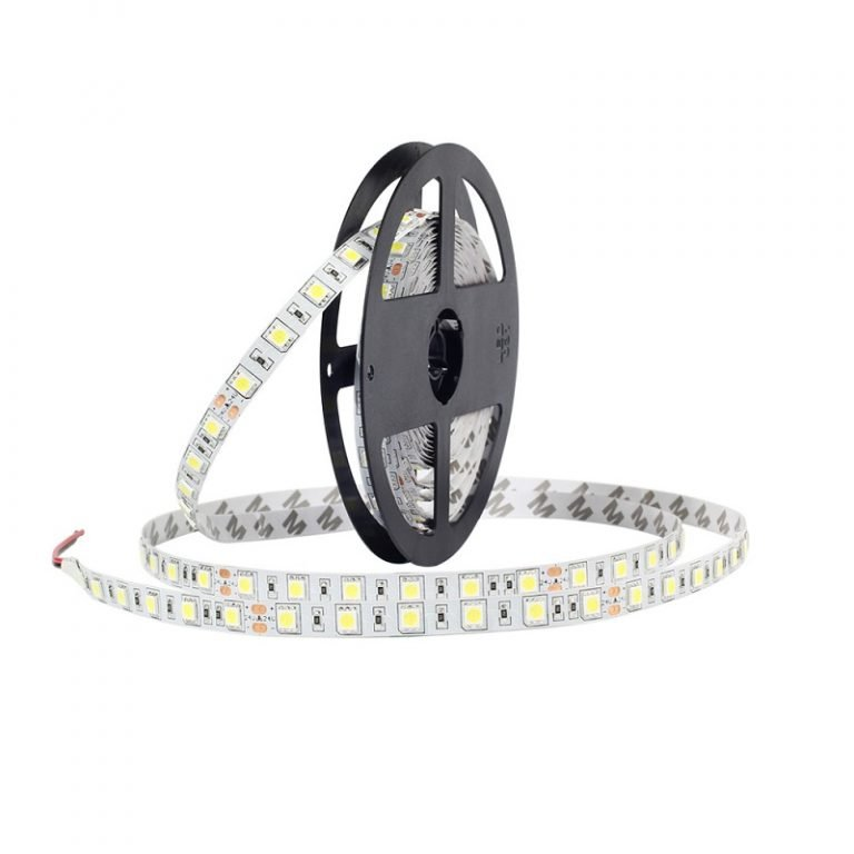 12V Cold White 5050 SMD LED Strip- 5Meter